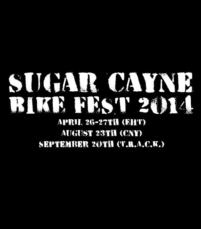 sugar cayne bike fest promo banner