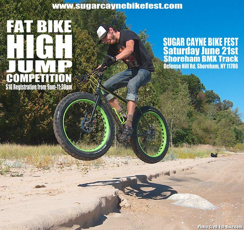 fat bike high jump