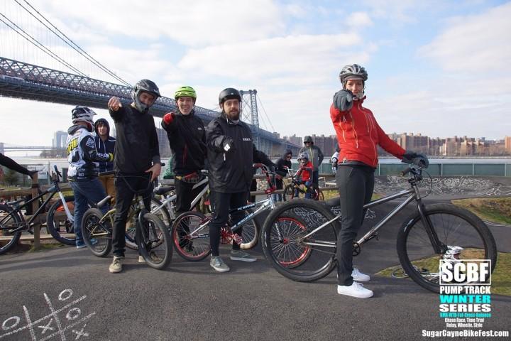 SCBF, Time Trial Relay, Brooklyn bike Park