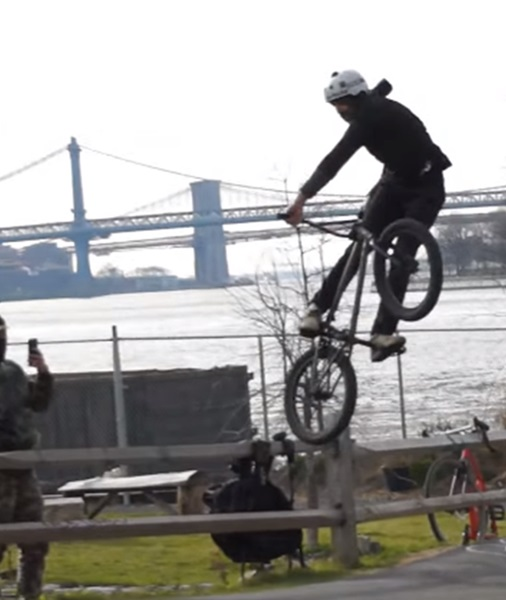 chris motorhead, brooklyn bike park