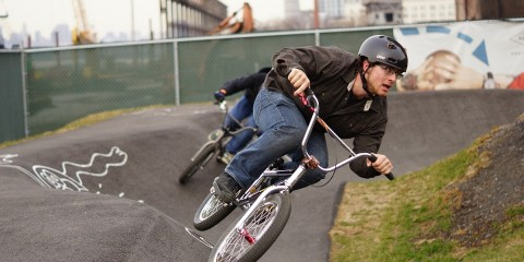Evan Eisenhard, Brooklyn Bike Park