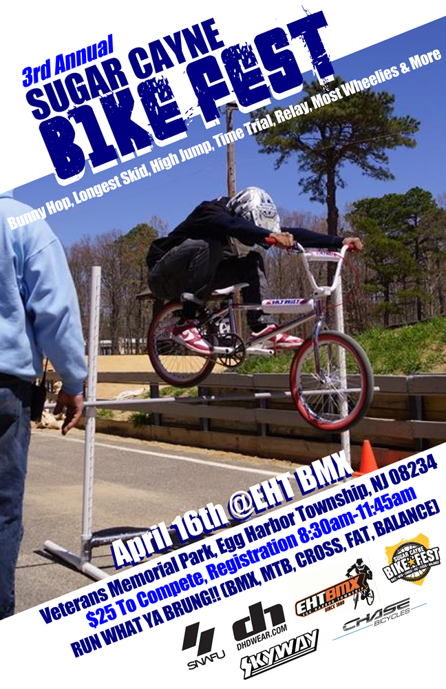 Sugar Cayne Bike Fest Flyer eht