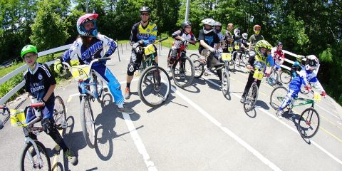 SCBF Tri-City BMX , starting hill