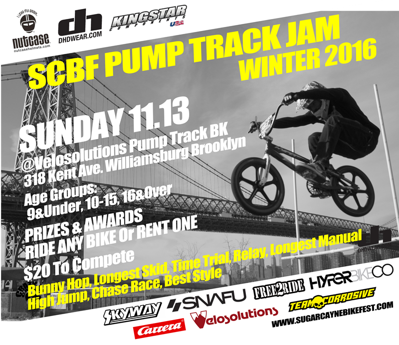 SCBF Pump Track Winter jam