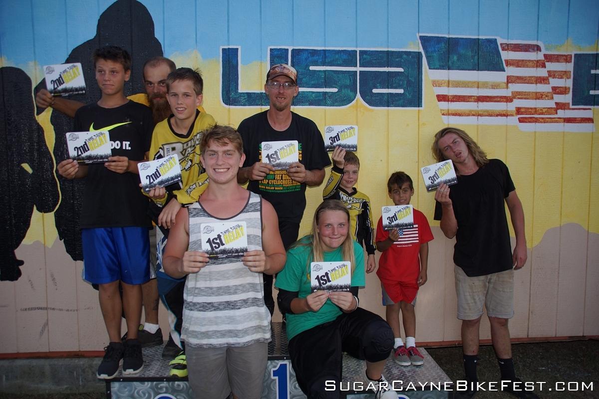 SCBF Hampton Winners