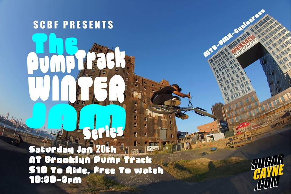pump track winter jam Brooklyn